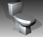 Link toBathroom -toilets 009 3d model