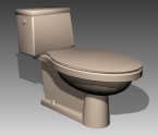 Link toBathroom -toilets 010 3d model