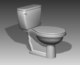 Link toBathroom -toilets 011 3d model
