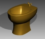 Link toBathroom -toilets 013 3d model