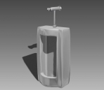 Link toBathroom -urinals 001 3d model