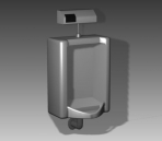 Link toBathroom -urinals 002 3d model