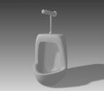 Link toBathroom -urinals 003 3d model