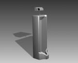 Link toBathroom -urinals  004 3d model