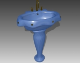Link toBathroom - wash tank 008 3d model