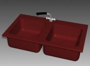 Link toBathroom - wash tank 018 3d model