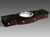 Link toBathroom - wash tank 019 3d model