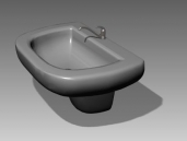 Link toBathroom - wash tanks 025 3d model