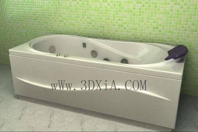 Link toBathtub free download-01 3d model