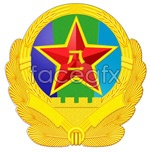 Link tovector emblem army Bayi