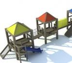 Link toBeach leisure facilities 3d model