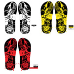 Link toBeach shoes pattern vector