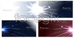Link toBeam of light background vector