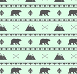 Link toBear mountain and seamless background vector