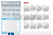 Link toBeautiful 2011 calendar template