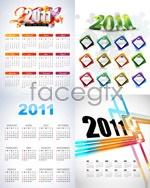 Link toBeautiful 2011 calendars vector