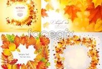 Link toBeautiful autumn leaves background