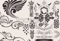 Link toBeautiful background of decorative pattern vector