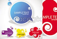 Link toBeautiful beautiful stickers vector c