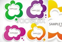 Link toBeautiful beautiful stickers vector iv