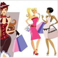 Link toBeautiful beauty cartoon trend vector