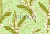 Link toBeautiful bell flowers vector