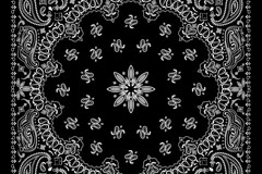 Link toBeautiful black and white patterned background vector