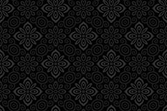Link toBeautiful black patterned background vector