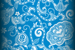 Link toBeautiful blue background pattern vector