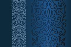 Link toBeautiful blue pattern vector