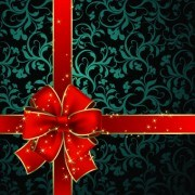 Link toBeautiful bow holiday cards vector set 06