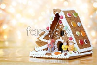Link toBeautiful candy house hd photo
