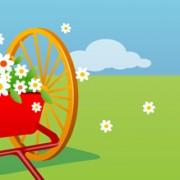 Link toBeautiful cartoon landscapes vector set 01 free