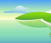 Link toBeautiful cartoon landscapes vector set 03 free