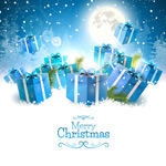 Link toBeautiful christmas ads vector