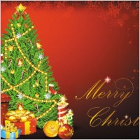 Link toBeautiful christmas background 01 vector
