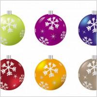 Link toBeautiful christmas ball 04 vector