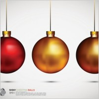 Link toBeautiful christmas ball background 02 vector