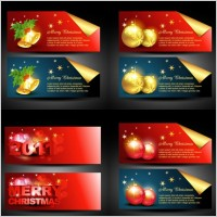 Link toBeautiful christmas banner vector