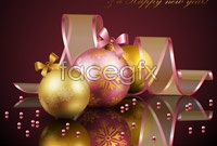 Link toBeautiful christmas decoration element vector