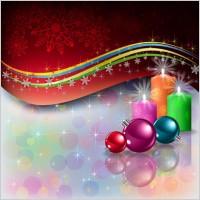 Link toBeautiful christmas decoration elements 03 vector