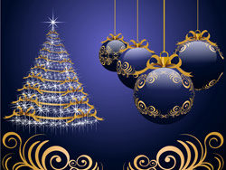 Link toBeautiful christmas design elements -46-hd pictures