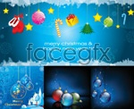 Link toBeautiful christmas elements vector