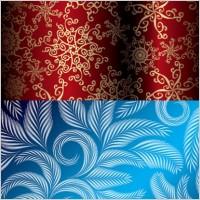 Link toBeautiful christmas pattern vector