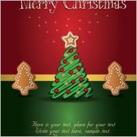 Link toBeautiful christmas tag 01 vector