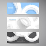 Link toBeautiful circle banner vector