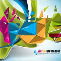 Link toBeautiful colorful background 01 vector