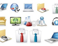 vector folder user 2 mouse icon commercial Beautiful