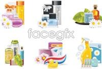 Link toBeautiful cosmetics vector