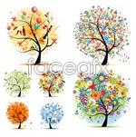 Link toBeautiful creative tree vector